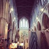 Just beautiful, old church, textiles, inspiration and lovely people #landmarkartscentre #contemporarytextiles #contemporarytextilesfair2017 #izabelamotyl