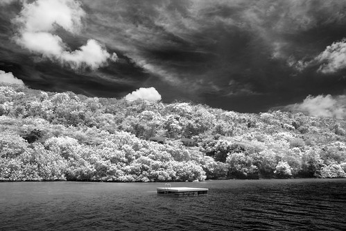 grenada stgeorges woburnbay infrared bw nikond7200 tamron1750mmf28vc