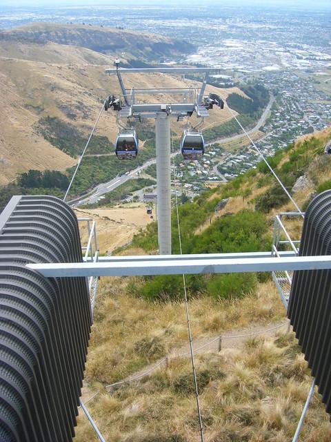 View over Christchurch area., Fujifilm FinePix Z100fd