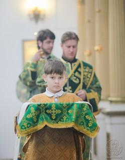 Литургия в Воскресенском соборе 370
