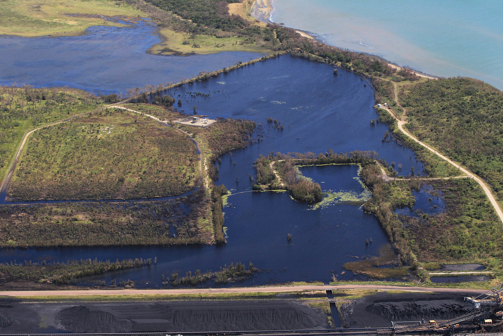 Adani's Abbot Point coal spill_11 April 2017_credit Dean Sewell/Oculi