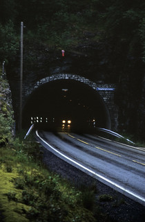 Norwegen 1998 (089) Teigabergtunnelen