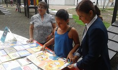 Alcaldía de Chone realizó evento por el día del libro