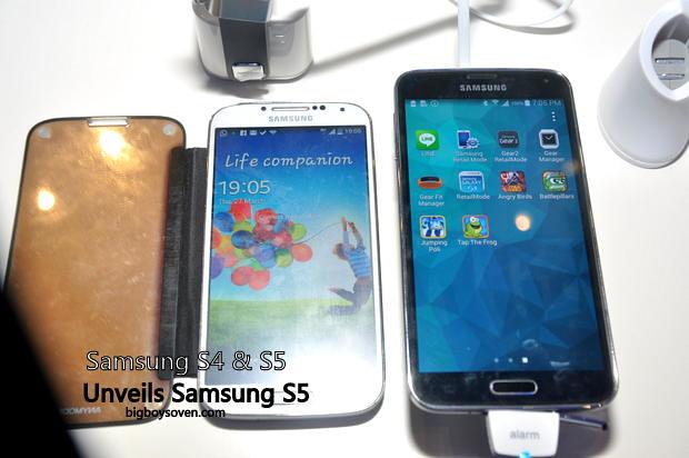 Samsung unveils Galaxy S5 7
