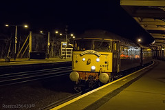 47832 'Solway Princess' Leads the delayed Northern Belle 1Z43 York to Ayr through Kilmarnock 04/04/14  ...