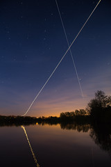 ISS Crossing Paths