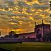 Taj Mahal complex at dawn