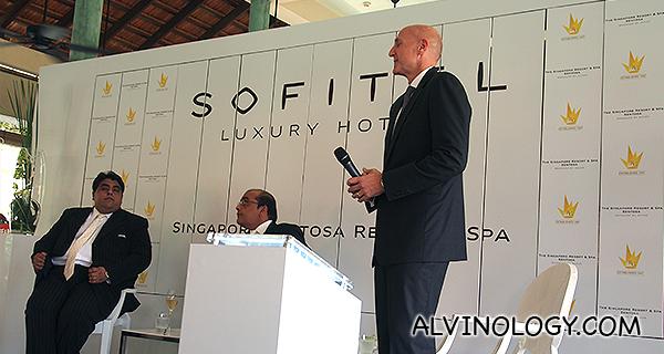 The new Sofitel Singapore Sentosa Resort & Spa, coming soon in 2015