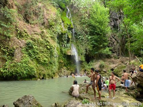 Deeper basin of Batlag Falls