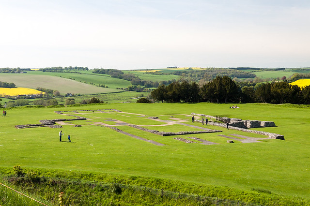 Cathedral ruins at Old Sarum