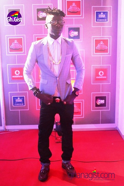 Stonebwoy at Ghana Music Awards 2014