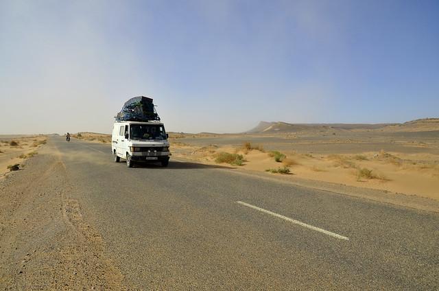 Carretera del desierto de Marruecos