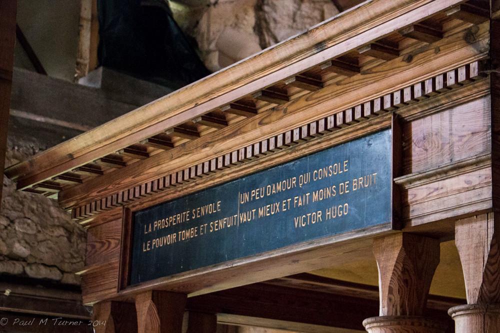 Inscripción Victor Hugo