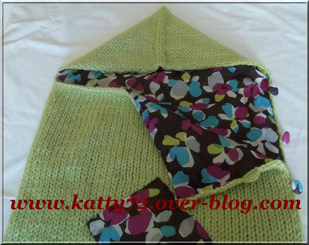 modèle tricot nid d ange bébé