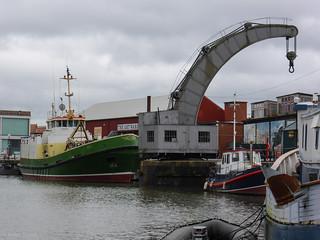 35 ton Fairbairn steam crane