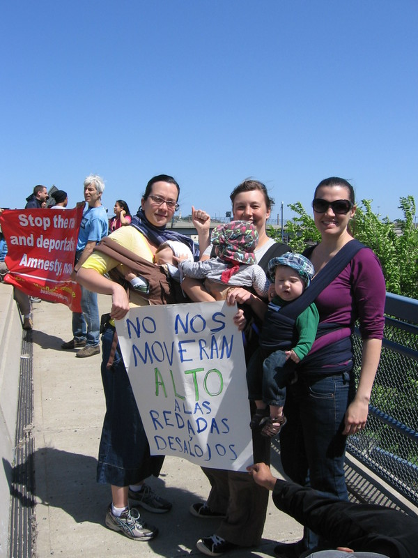 Mother's Day Rally Against Deportations