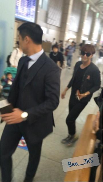 [Pics] JKS departs from Seoul to Beijing_20140425 14019780304_b3cc978f16_z