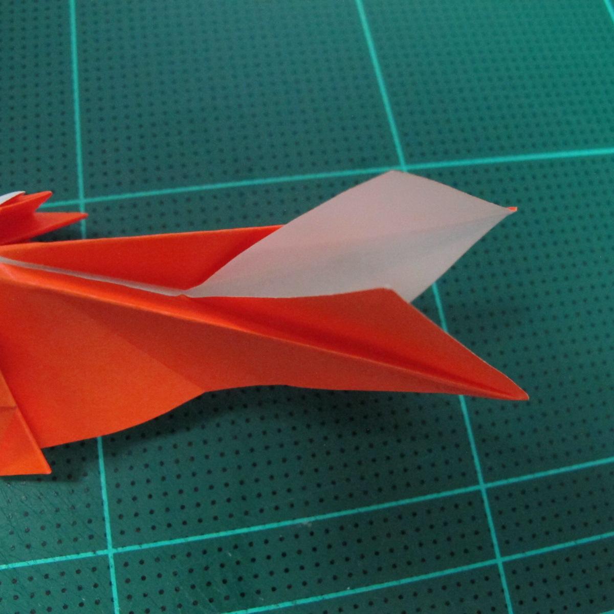 การพับกระดาษเป็นรูปปลาทอง (Origami Goldfish) 023