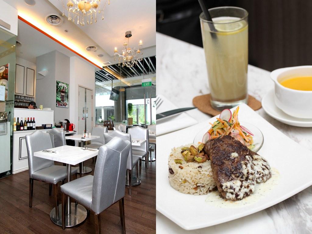 杰姆美食之旅:麦多地中海牛肉丸配黄油米饭和什锦色拉