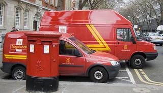 Royal Mail Delivery Trucks