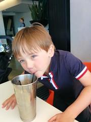 MCA milkshake