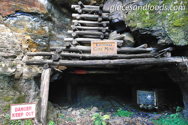 scenic world coal mine