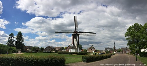 Molen de Korenbloem in Oploo / Windmill in Oploo, the Netherlands