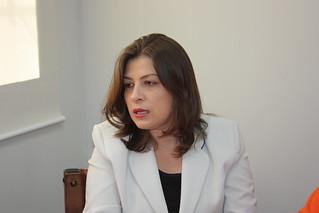 Débora Cabral, de Descalvado, tem reunião no Solidariedade-SP sobre sua pré-candidatura a deputada federal