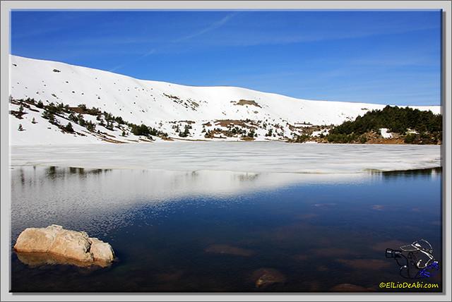 Lagunas de Neila (Burgos) heladas (6)
