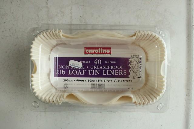 loaf pan liners.