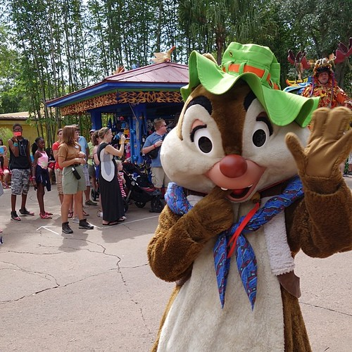 Mickey's Jammin' Jungle Parade。デールさん。