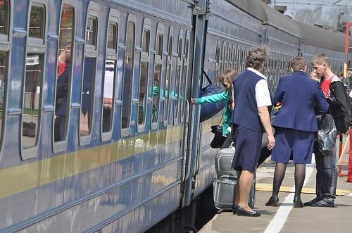 Пограбували у потязі
