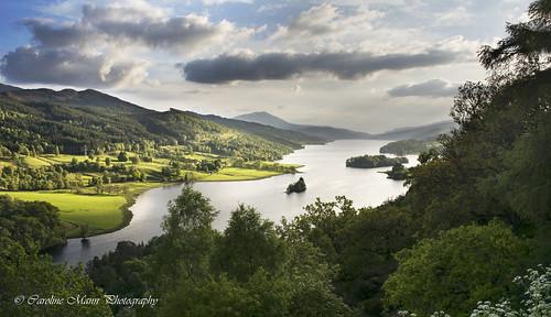 scotland view queens loch tummel