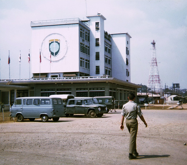 Free World Building in Saigon 1968