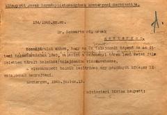 VII/9.b. Elhagyott Javak Kormánybiztossága KEM megbízottjának iratai-134-1945-02