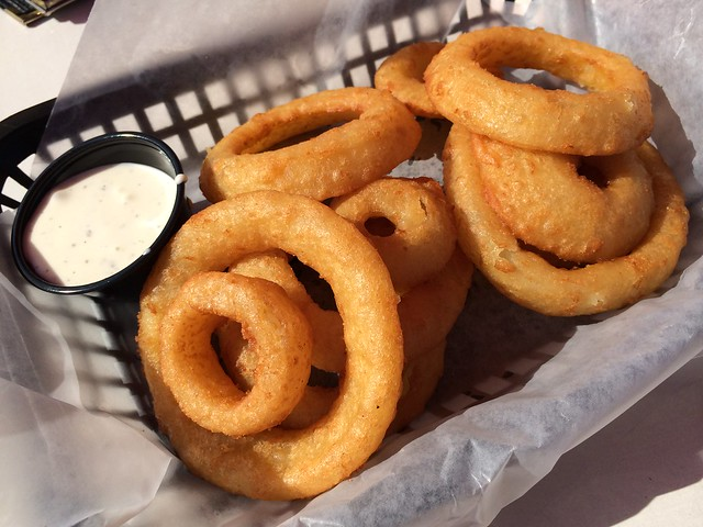 Onion rings - Boat Shed Restaurant
