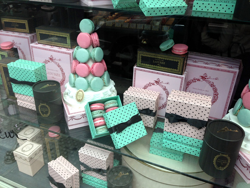 Laduree, Paris - macarons