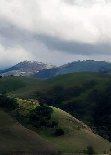 trees cloud tree weather clouds hills hillside sunol sunolca