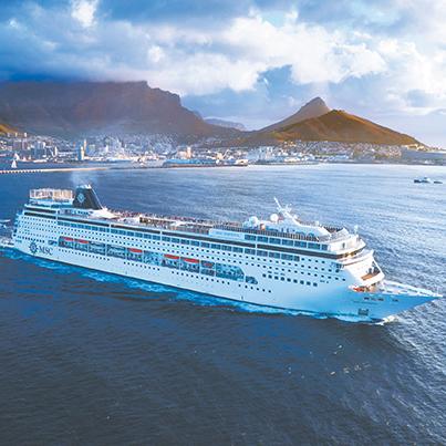 MSC-Opera ship