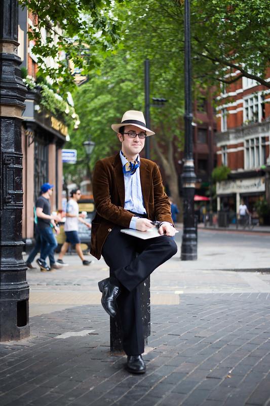 Street Style - Seth, Cambridge Circus