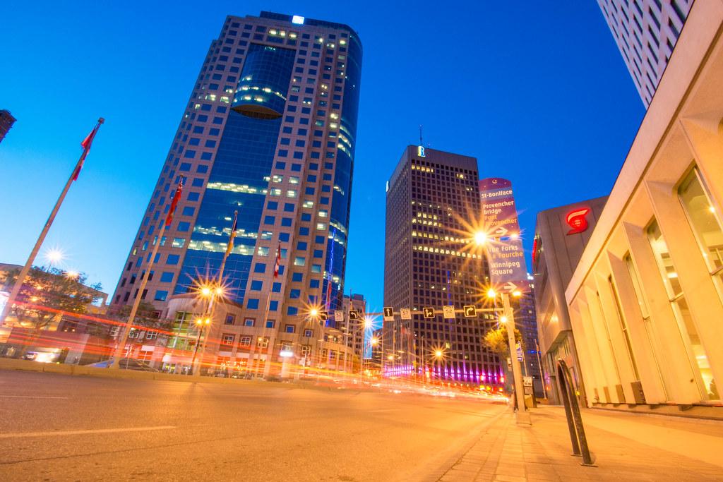 Portage and Main - Winnipeg