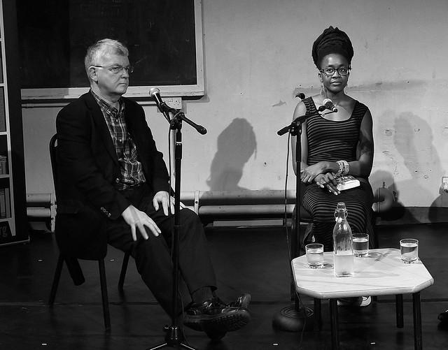 Nnedi Okorafor & Ken MacLeod Scottish Pen talk 02