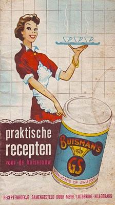 Praktische recepten voor de huisvrouw met Buisman's GS