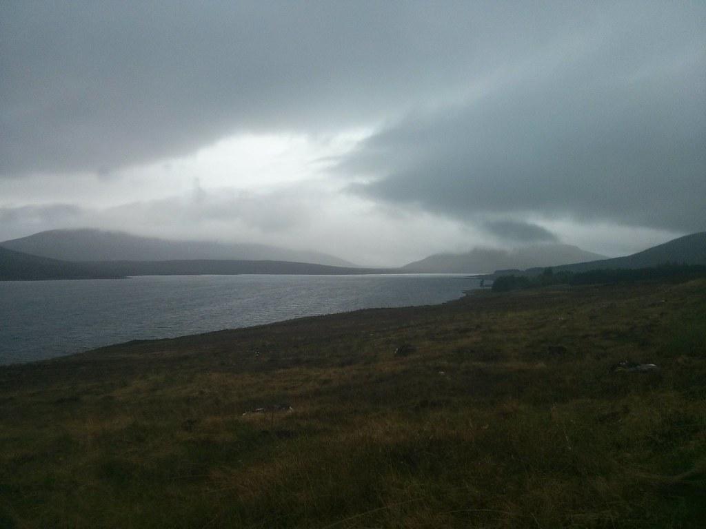 West down Loch Fannaich