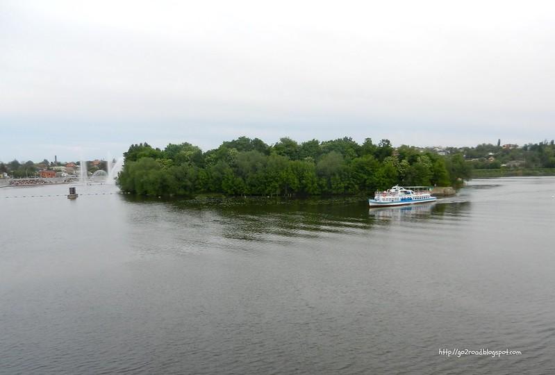 Остров Кемп на Южном Буге