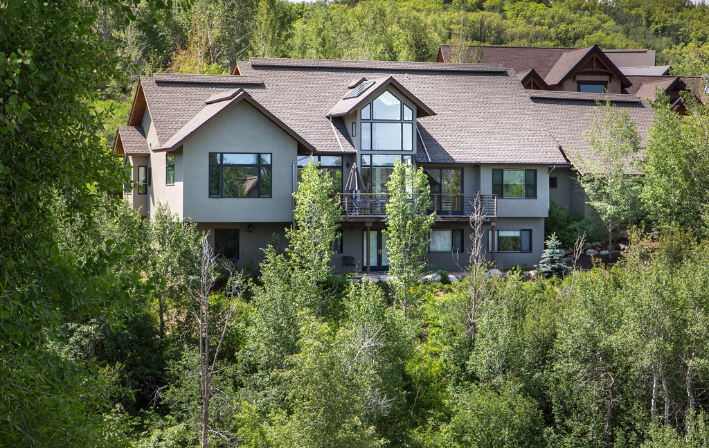 Fish Creek Falls, Steamboat home for sale, 5 bedroom, office, trail access