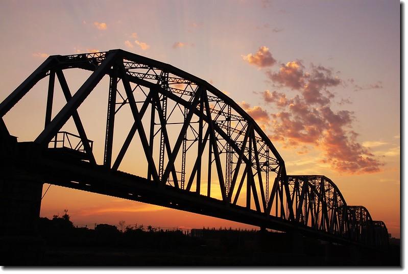 高屏舊鐵橋夕照 32