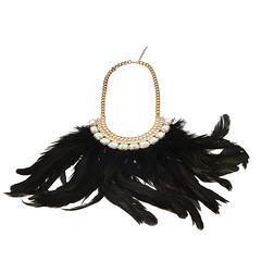 Little India Feather Necklace