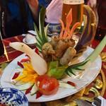 A Dish at the Royal Dinner in Hue