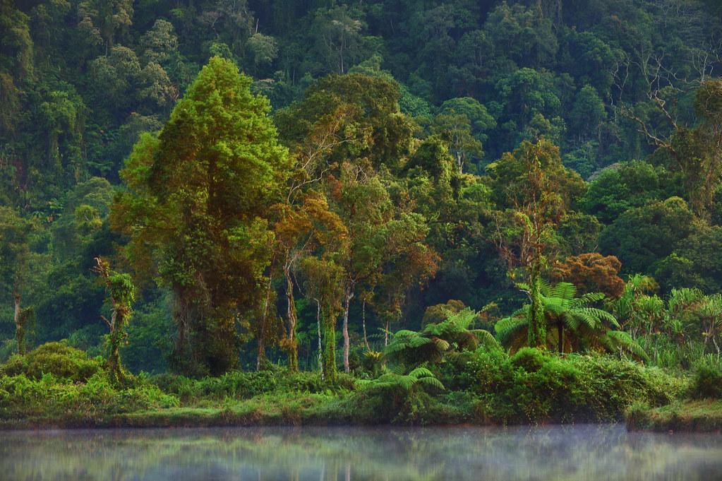 Situ Gunung, Sukabumi, West Java, Indonesia